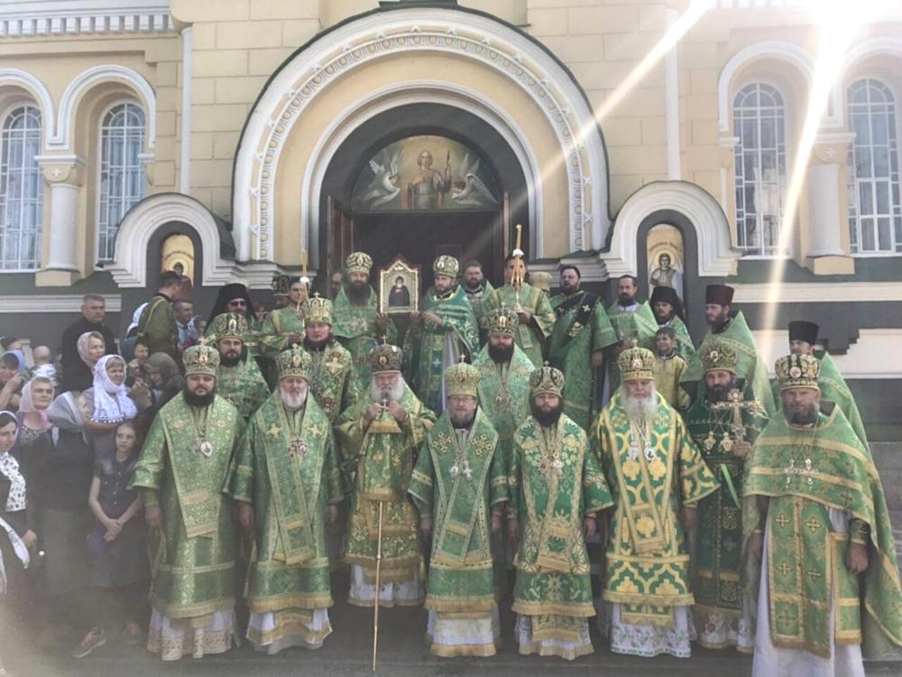 В день Церковного новолетия архиепископ Ефрем принял участие в престольном празднике Свято-Георгиевского ставропигиального монастыря в с.Городница