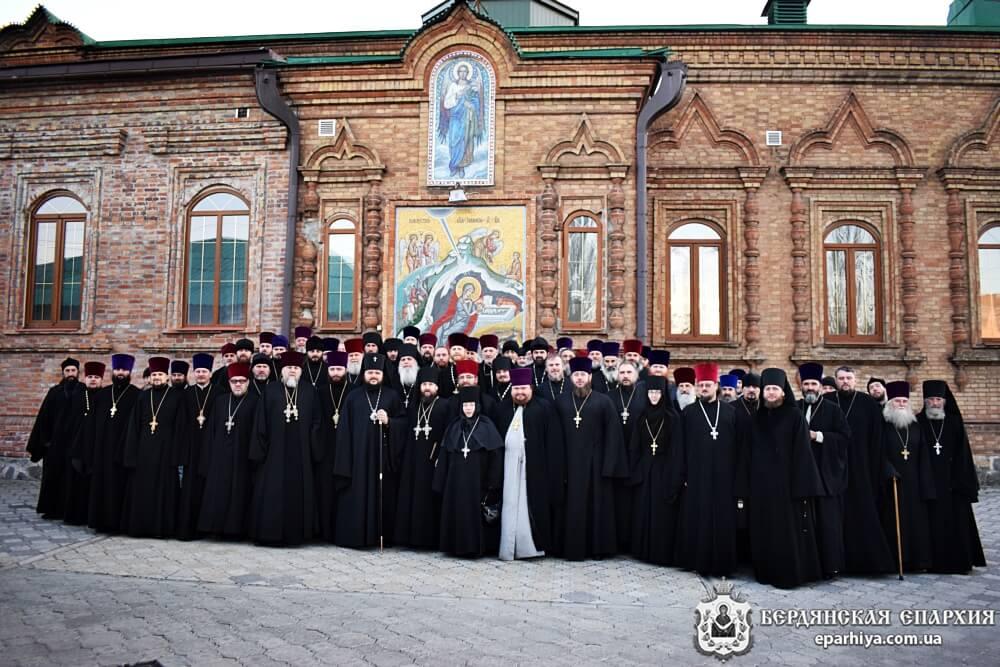Состоялось ежегоднее общее собрание духовенства Бердянской епархии