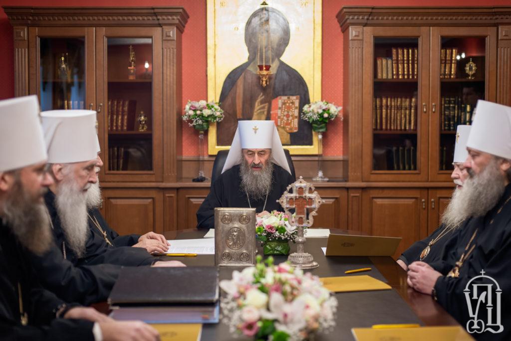 Архиепископ Ефрем принял участие в заседании Священного Синода Украинской Православной Церкви