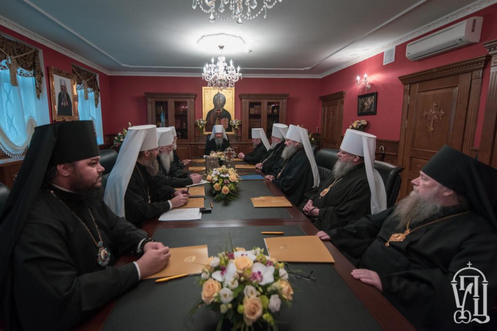 Обращение Священного Синода Украинской Православной Церкви к архипастырям, пастырям, монашеству и верующим от 17 декабря 2018 года