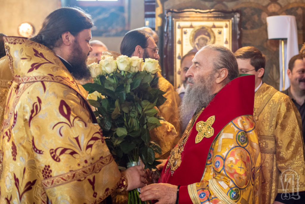 Архиепископ Ефрем поздравил Первосвятителя Украинской Православной Церкви с 28-ой годовщиной архиерейской хиротонии
