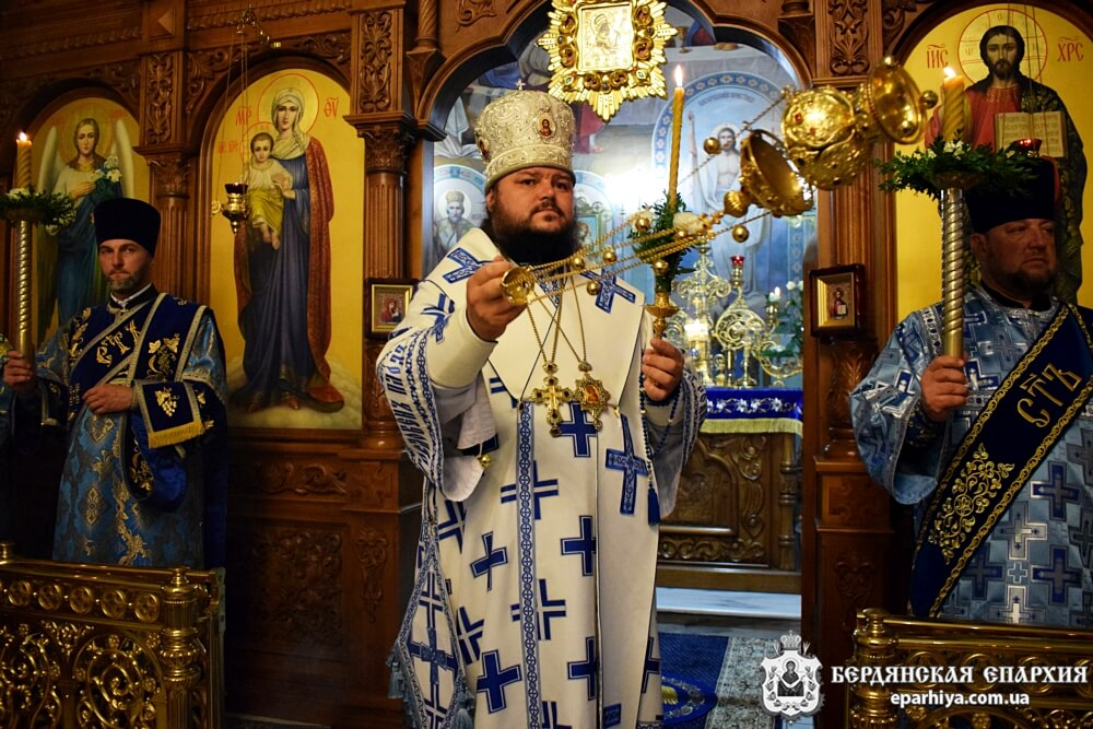 Поздравление Архипастырю с годовщиной епископской хиротонии
