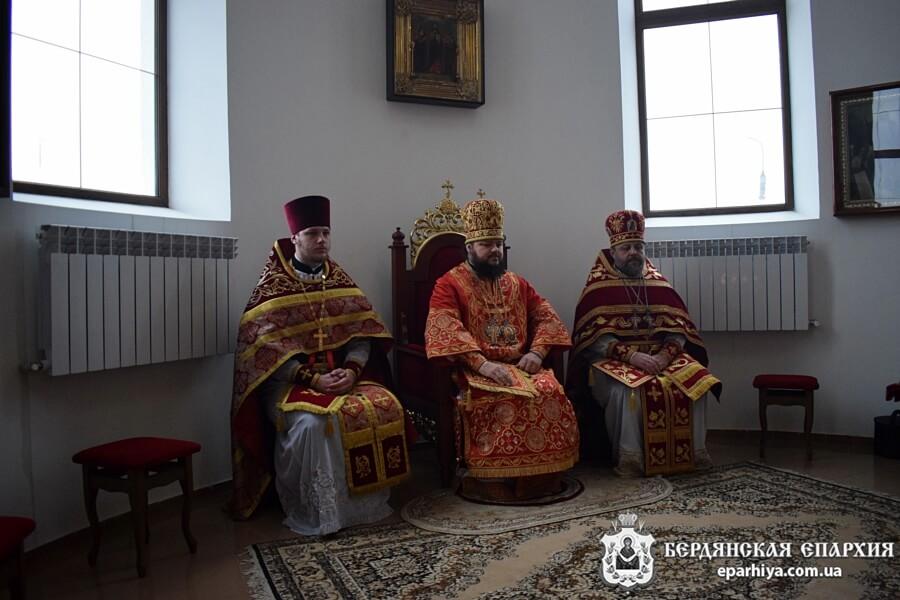 Архиепископ Ефрем поздравил с днем тезоименитства благочинного Бердянского церковного округа