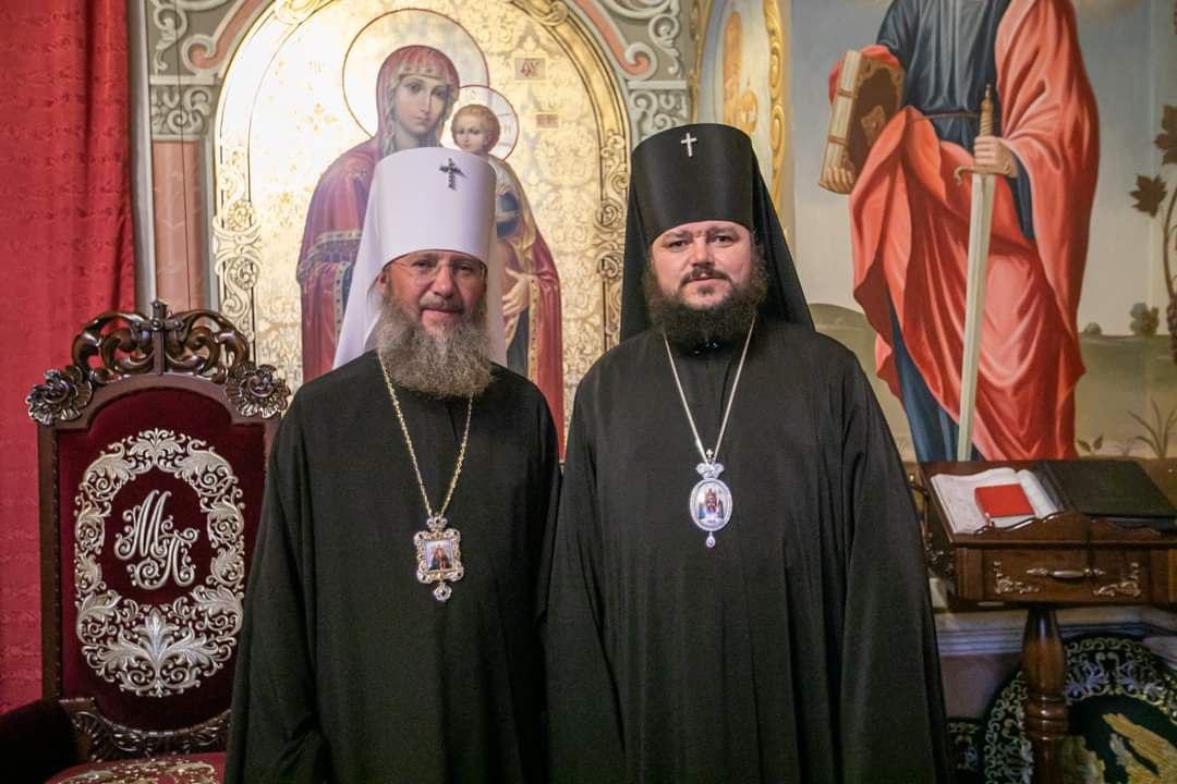 Архиепископ Ефрем поздравил с днем тезоименитства Управляющего делами УПЦ
